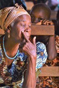 Worried woman - Togo