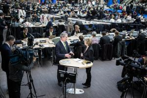 European Summit, Press Room