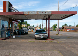 Abandoned Gas station - Reedsport, OR