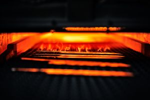 Heat treatment,  heating the steel blades and then rapidly cooling it in cold water/oil – quenching, is a mechanical process in which steel alloys are strengthened and hardened.