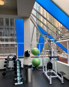 Gym, Pinnacle Hotel, Vancouver Harbor