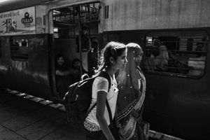 IMPRESSIONS AT THE OLD DELHI RAILWAY STATION 45