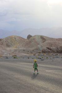 Death Valley kid