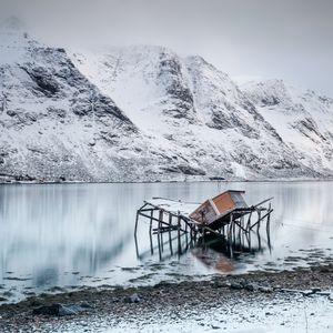 Fishermen's cabin Skjelfjord