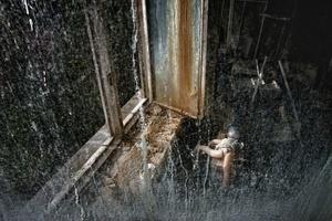 """the kindergarten """"Zolotoj Kluchik"""", the golden key, Pripyat, Chernobyl exclusion zone."""