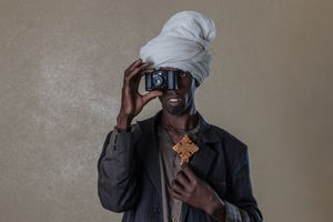 The World of Sight. Portrait of KESHI YRGA. From the project: Camera. Blind. Project. ©Ivo+Ana