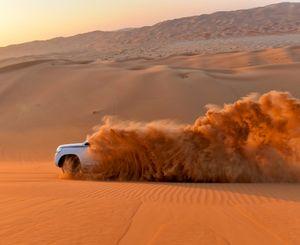 Dust trail
