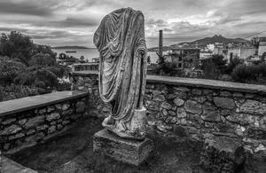 site of Eleusinian mysteries, Elefsina, 2016