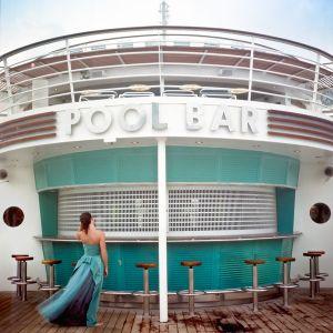 Pool Bar, Self Portrait. Miami, Florida, 2005. © Cig Harvey.