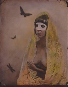 © Zelko Nedic, Like A Virgin           8x10 Tintype, Hand Coloured