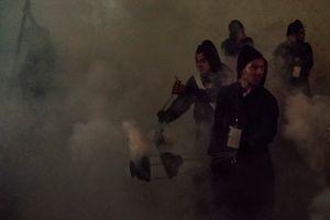 El humo y los inciensarios