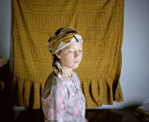 "From the series ""Petite robe de fete"" © Delphine Schacher, Circulations Festival"