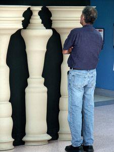 Visual Perception Exhibit, California Science Center, Los Angeles, CA