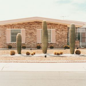Front yard 11, from the series Sun City © Peter Granser