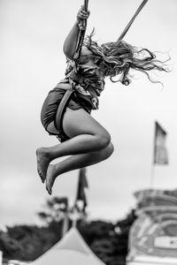 Girl Jumping, 2018
