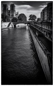 Notre Dame by the Seine.