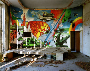 East Germany, Forst Zinna. Cinema at a Russian army base.