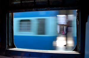 Split second train window