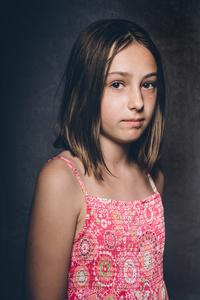 Isobel aged 10.