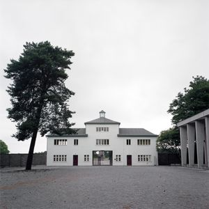Main Entrance, Sachsenhausen Memorial and Museum