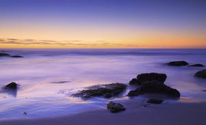 Rocks / At Noordhoek beach, on the coast of the Atlantic Ocean, Cape Peninsula, South Africa