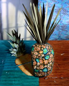 Daniel Gordon, Pineapple and Shadow , 2011; from Feast for the Eyes (Aperture, 2017) © Daniel Gordon, courtesy the artist and James Fuentes Gallery, New York