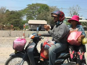 4 cambodge On the road