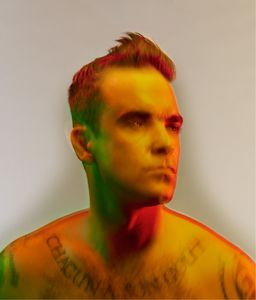 Robbie Williams © Nadav Kander. Courtesy Flowers Gallery.
