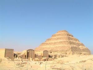 La Pyramide de Sakkara, Egypte