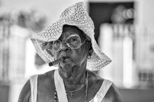 Santeria Worshipper, Havana, 2018