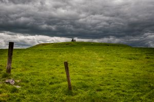 Burial Mound of the Kings of Connacht, Rathcrochan, co Roscommon, Ireland.