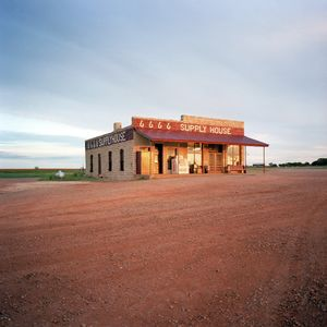 Supply House, Four Sixes Ranch, Texas