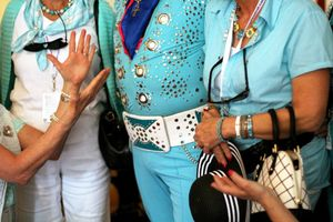 Turquoise Elvis 1