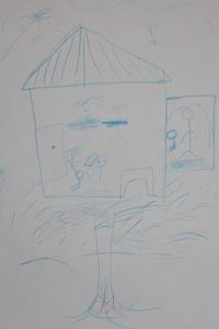 A drawing by Hauwa.