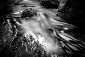 Creek Flow, Saratoga Spa State Park, 2018