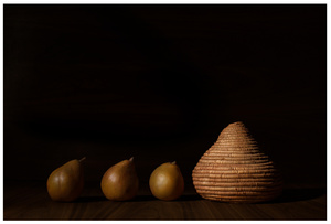 Still Life with Himba Water Jug and Figs