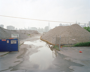 Former Daily News site, 55-02 Second Street, Hunters Point, Queens, looking northwest