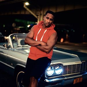 Sosa, with his Impala. Harlem, NYC. 2016.
