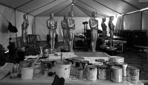 Oscars Statues - 2018
