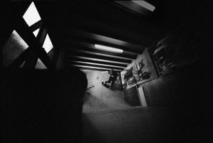 Chris Pond, Lounge Room Wallride, Frenchs Forest, NSW