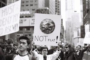 Not Flat!