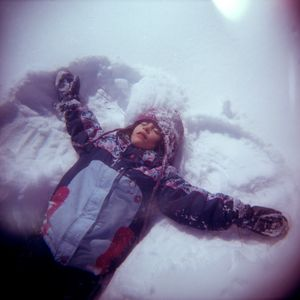 Margot in winter
