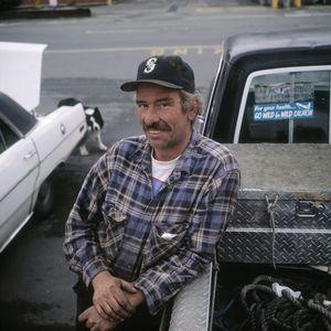 Bruce Miller, salmon fishing, Seattle, USA.