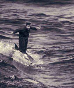Miracle of Dolphinsurfing, Type C-print, 2002 © Joan Fontcuberta