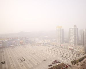 Shopping Mall, Beibin road, Chongqing 2008. © Ferit Kuyas.