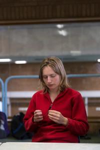 Gemma at Milton Keynes Sports Hall