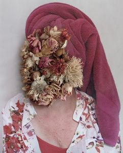 'Funeral flowers' from the series Conversations with my mother