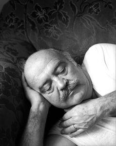 Dad Sleeping, Washington DC 1984