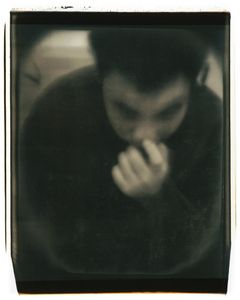 Untitled (Tran with hand)                               © Diane Fenster