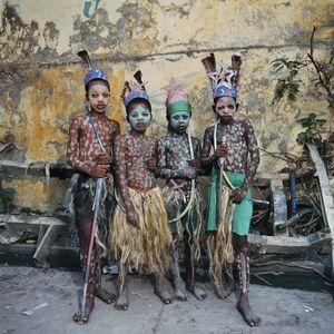 Les Indiens © Phyllis Galembo, Reflex Gallery